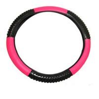 Capa de volante com Massageador Pink